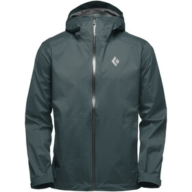 Black Diamond Stormline Stretch Rain Shell Jacket Herre deep forest
